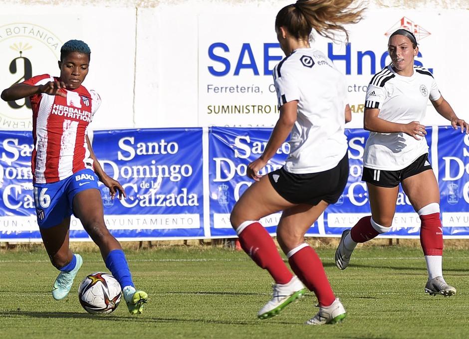 Temporada 2021/22   Triangular amistoso   Atleti Femenino-Burgos   Rash Ajibade
