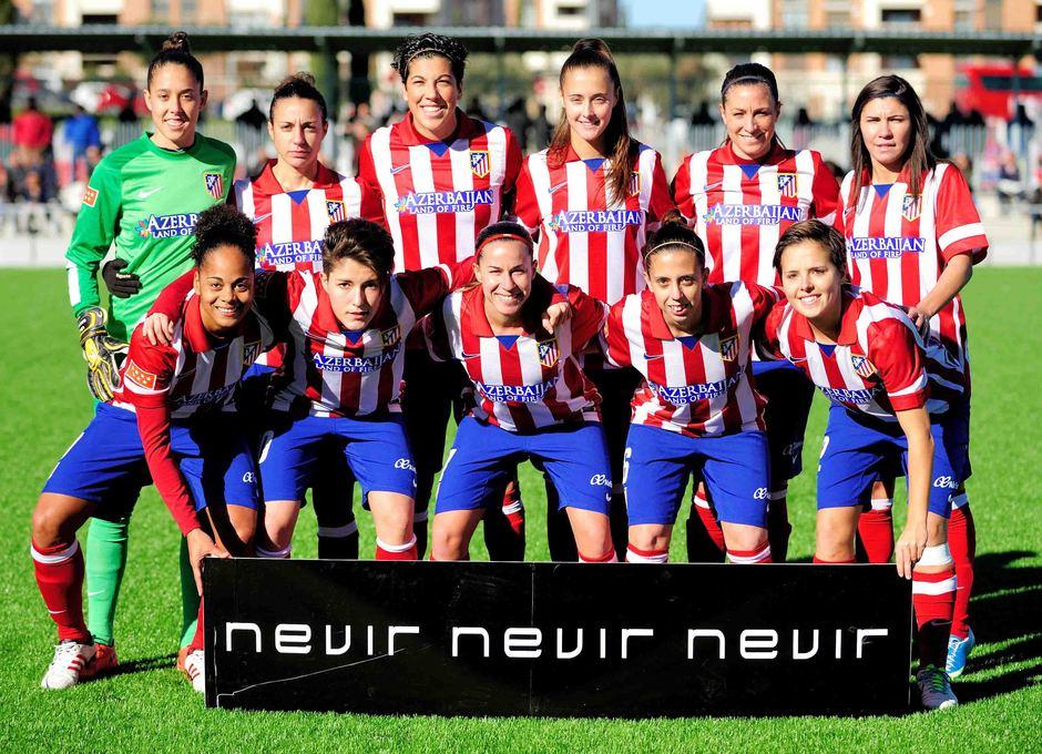 Temporada 2013-2014. Once del Féminas ante el Athletic
