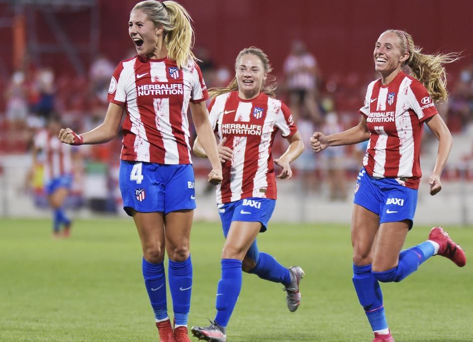 Temp. 21-22 | Atlético de Madrid Femenino - Rayo Vallecano | Celebración Laia Aleixandri
