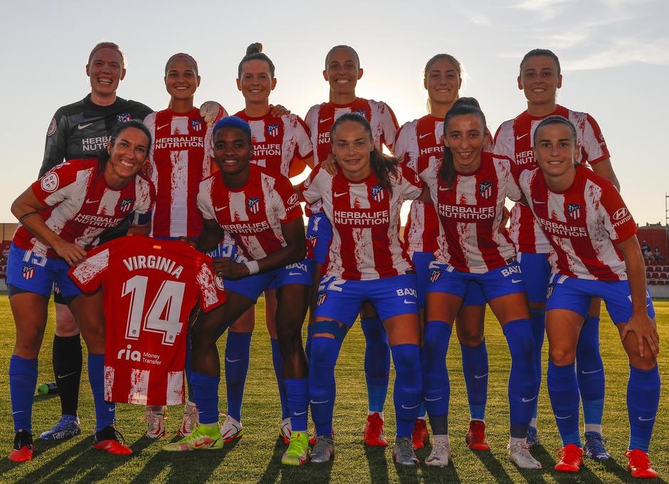 Temp. 21-22 | Atlético de Madrid Femenino - Rayo Vallecano | Once
