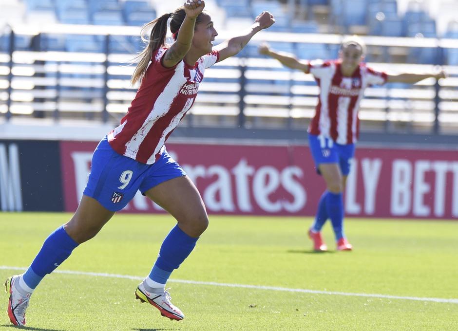 Temporada 20-21 | Real Madrid - Atlético de Madrid Femenino | Deyna gol celebración