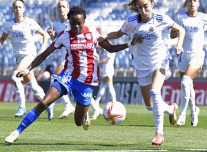 Temporada 20-21   Real Madrid - Atlético de Madrid Femenino   Kgatlana