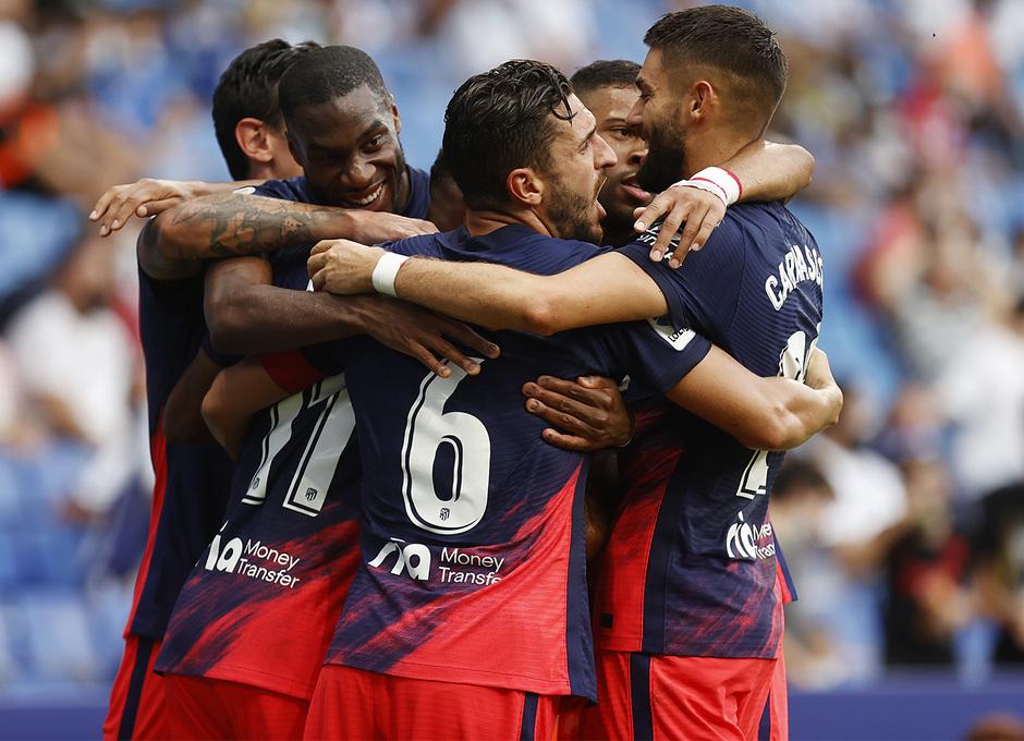 Temporada 21-22 | Espanyol - Atlético de Madrid | Celebración