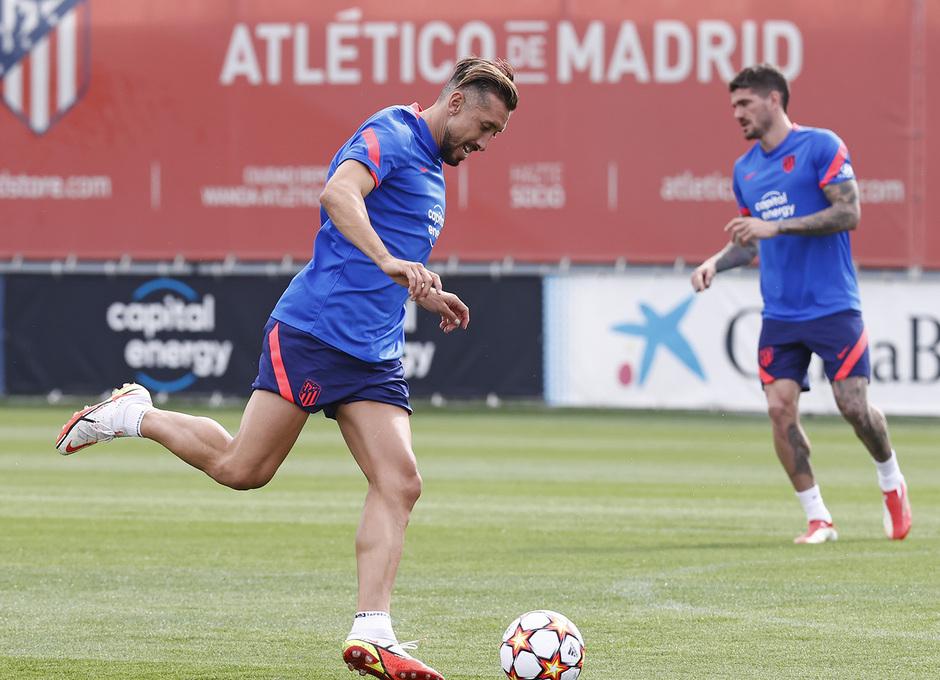 Temp. 21/22 | Entrenamiento Atlético de Madrid | Herrera