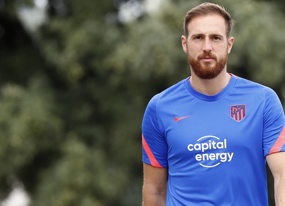 Temp. 21/22 | Entrenamiento Atlético de Madrid | Oblak