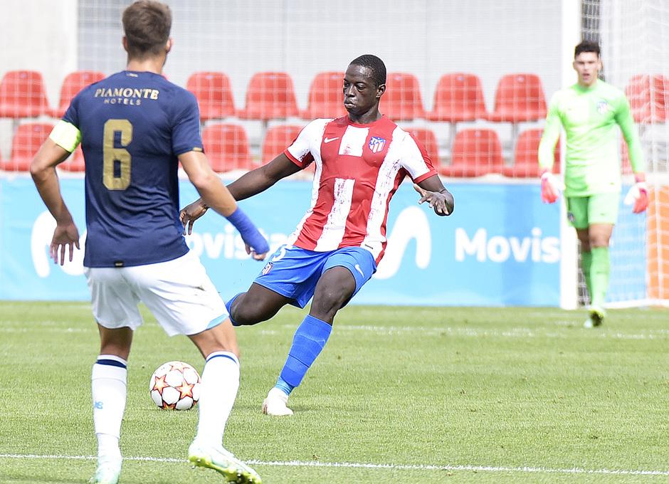 Temporada 2021/22 | Atlético de Madrid Juvenil A - Porto | Youth League | Ibrahima