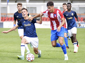 Temporada 2021/22   Atlético de Madrid Juvenil A - Porto   Youth League   Carlos Martín
