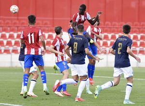 Temporada 2021/22   Atlético de Madrid Juvenil A - Porto   Youth League   Ibrahima