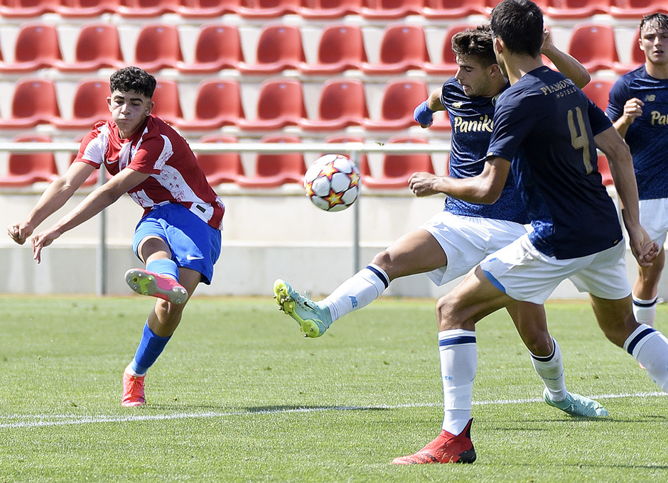 Temporada 2021/22 | Atlético de Madrid Juvenil A - Porto | Youth League | Salim