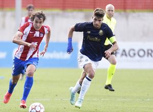 Temporada 2021/22   Atlético de Madrid Juvenil A - Porto   Youth League   Serrano