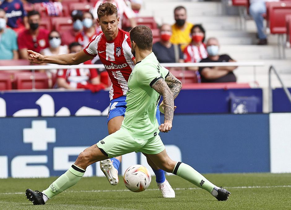 Temporada 21/22 | Atlético de Madrid - Athletic Club | Llorente