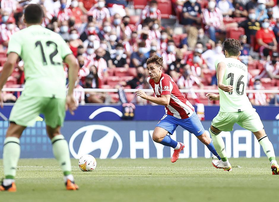 Temporada 21/22 | Atlético de Madrid - Athletic Club | Griezmann