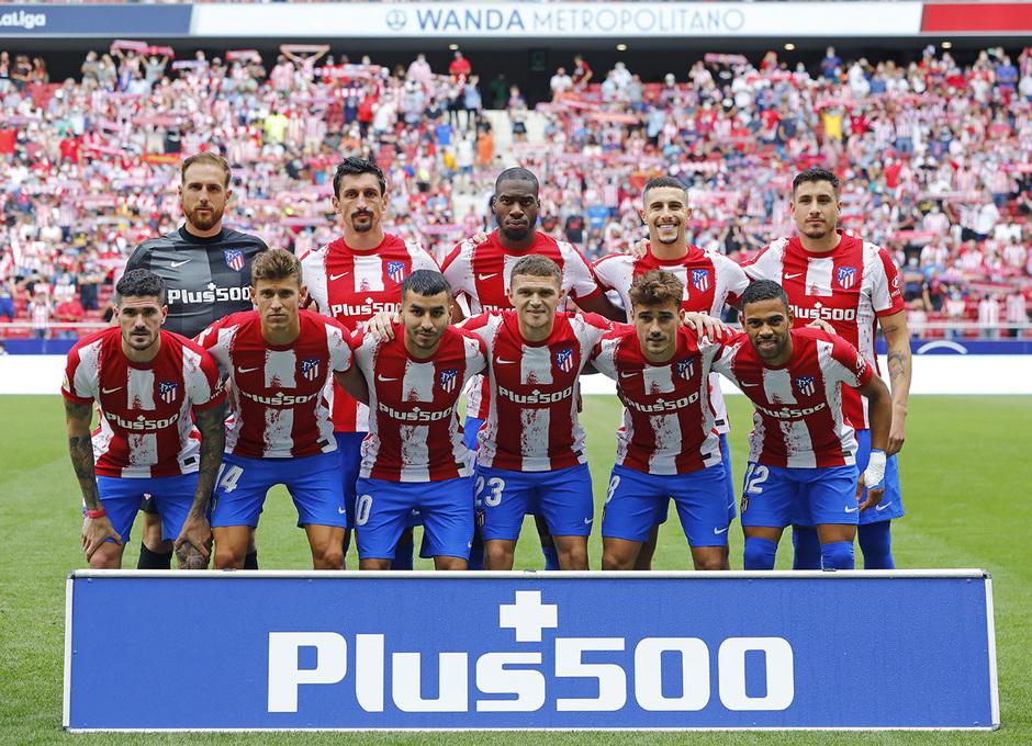 Temporada 21/22 | Atlético de Madrid - Athletic Club | Once