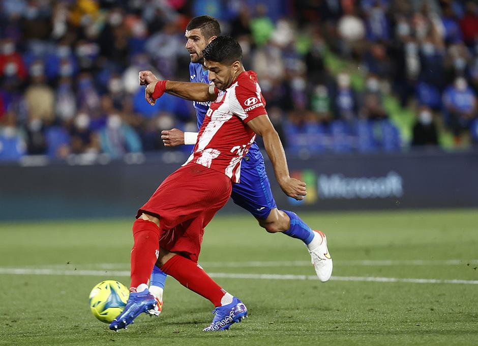 Temporada 2021/22 | Getafe - Atlético de Madrid | Suárez