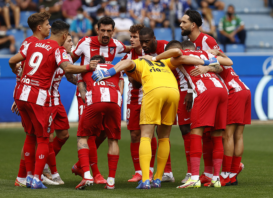 Temporada 2021/22   Alavés - Atlético de Madrid   Piña
