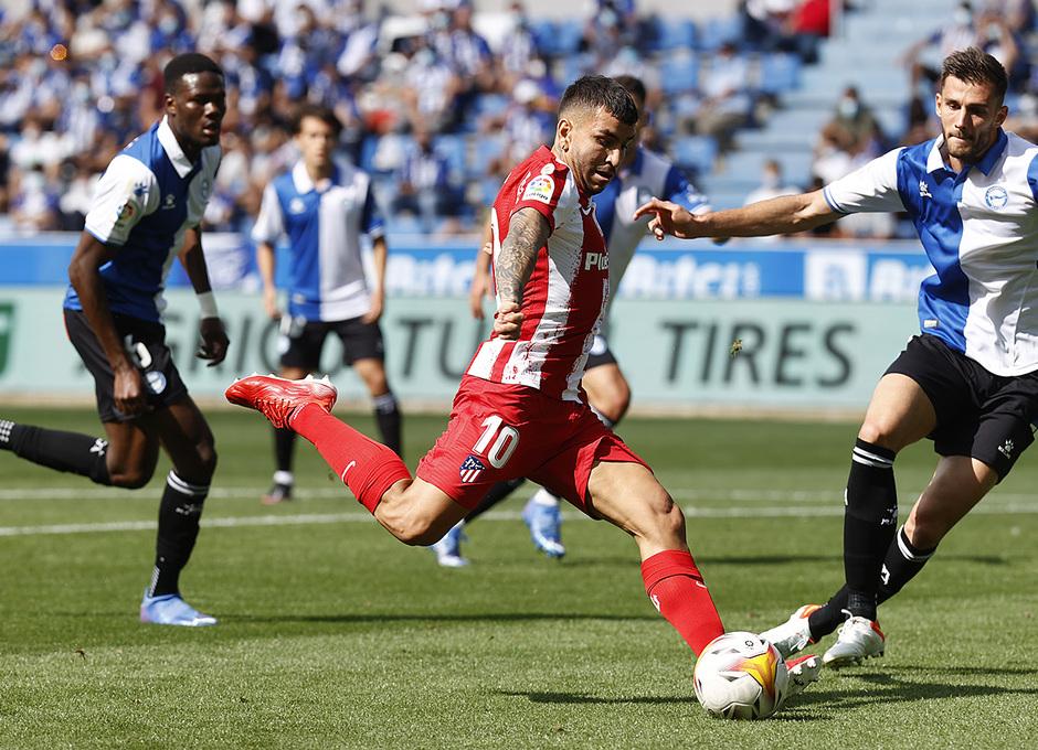 Temporada 2021/22   Alavés - Atlético de Madrid   Correa