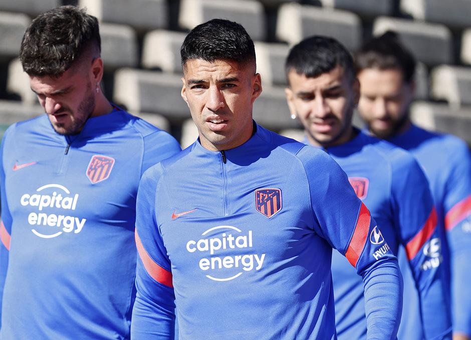 Entrenamiento 26/09/2021. Ciudad Deportiva Wanda. Luis Suárez