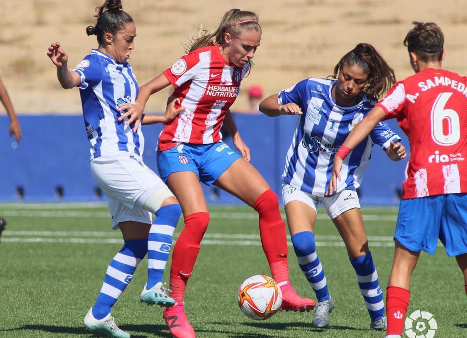 Temp. 21-22 | Sporting de Huelva - Atlético de Madrid Femenino | Maitane