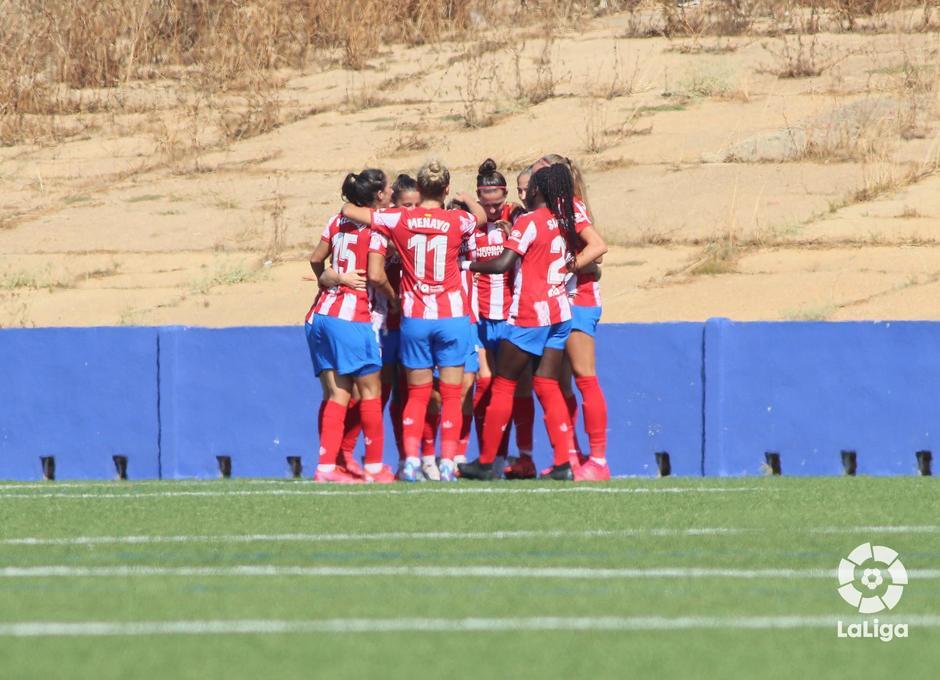 Temp. 21-22 | Sporting de Huelva - Atlético de Madrid Femenino | Celebración