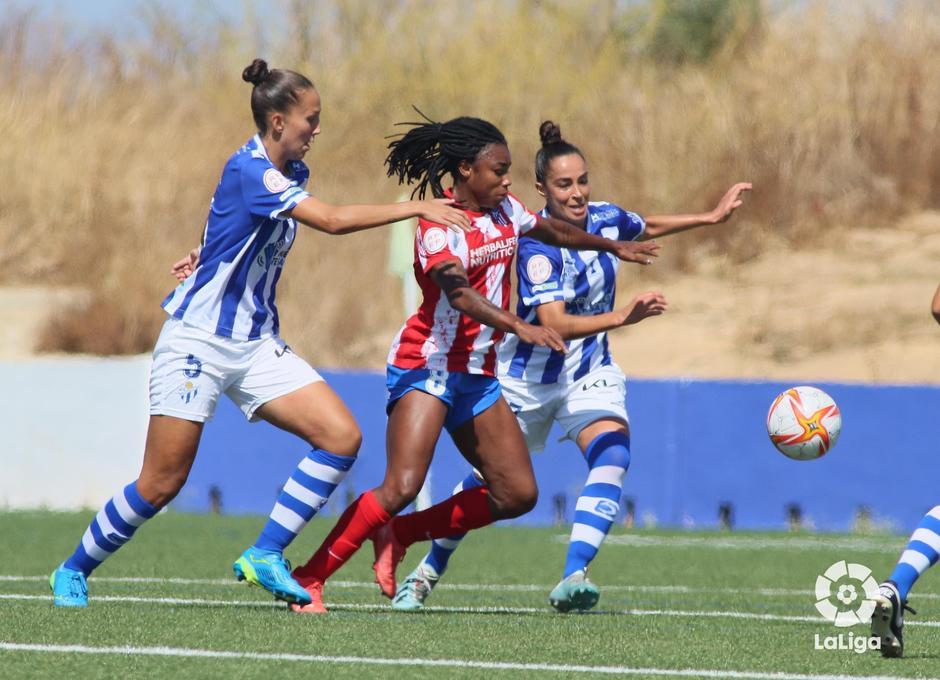 Temp. 21-22 | Sporting de Huelva - Atlético de Madrid Femenino | Ludmila