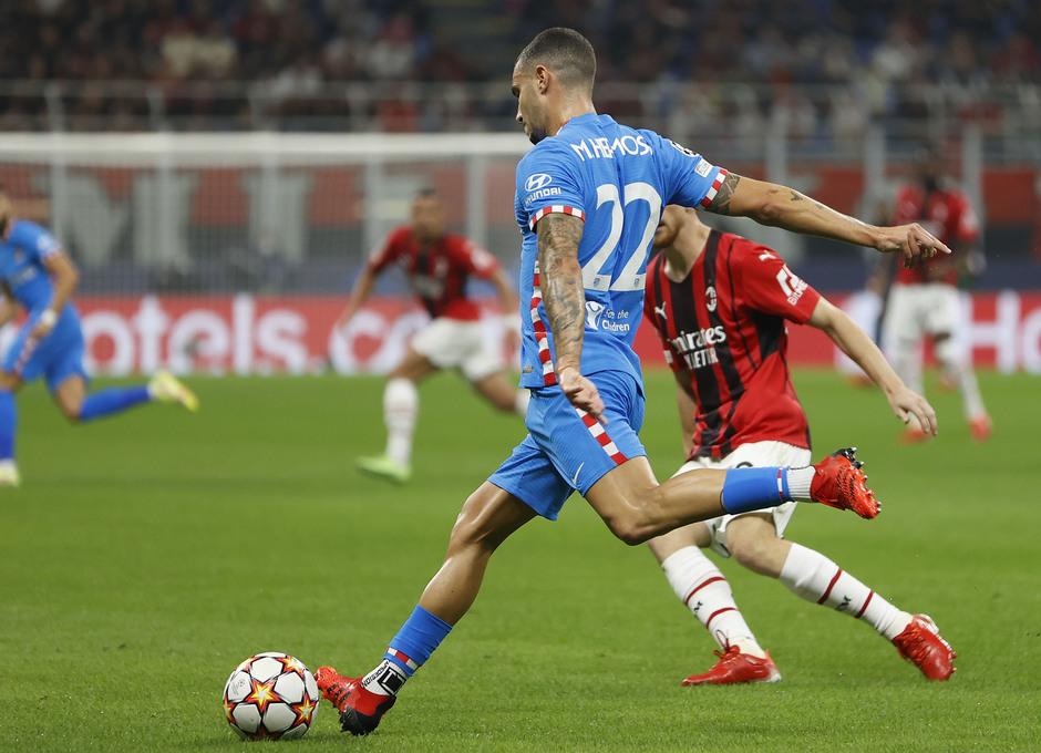 Temporada 2021/22 | Champions League | AC Milan - Atleti | Hermoso