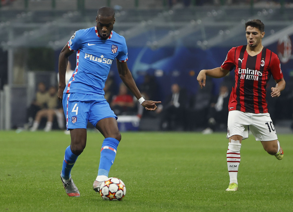 Temporada 2021/22 | Champions League | AC Milan - Atleti | Kondogbia