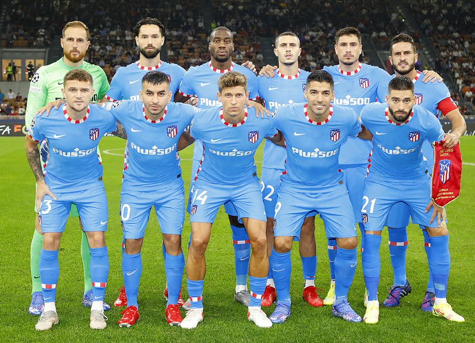 Temporada 2021/22 | Champions League | AC Milan - Atleti | Once
