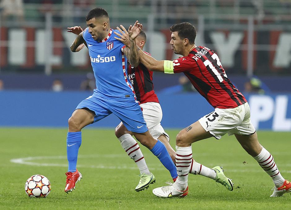 Temporada 2021/22   Champions League   AC Milan - Atleti   Correa
