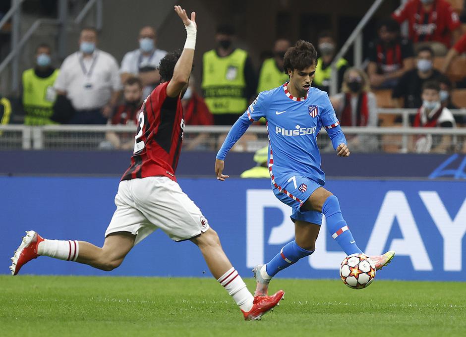 Temporada 2021/22 | Champions League | AC Milan - Atleti | Joao Fñelix