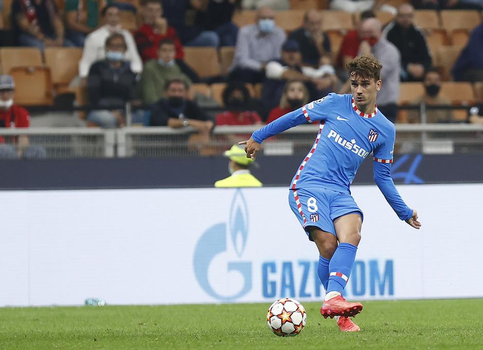 Temporada 2021/22 | Champions League | AC Milan - Atleti | Griezmann