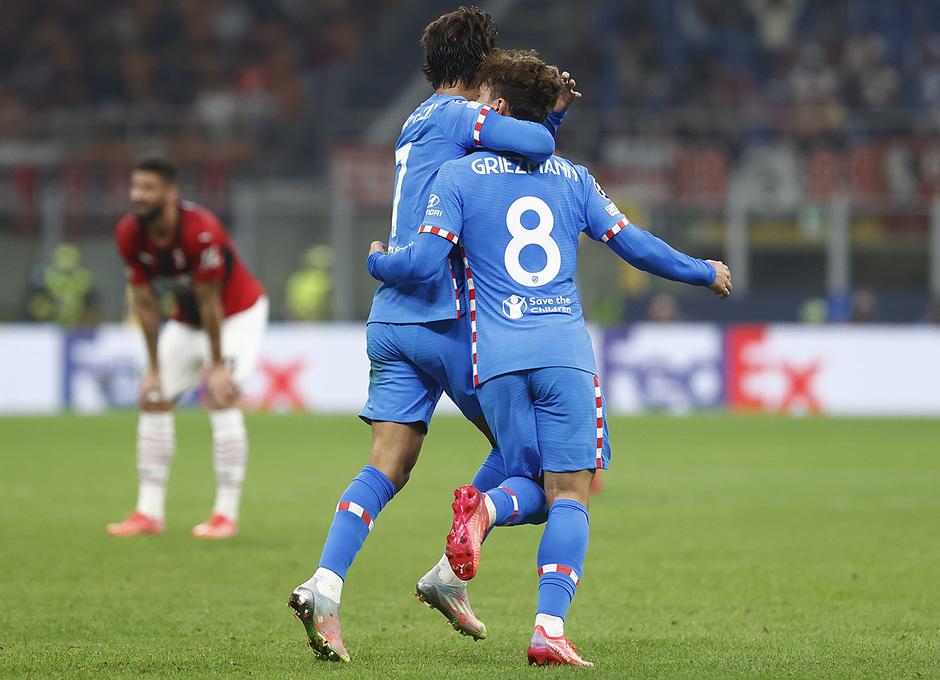 Temporada 2021/22 | Champions League | AC Milan - Atleti | Griezmann y Joao Félix