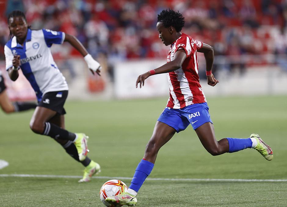 Temporada 2021/22 | Atlético de Madrid Femenino-Alavés | Kgatlana