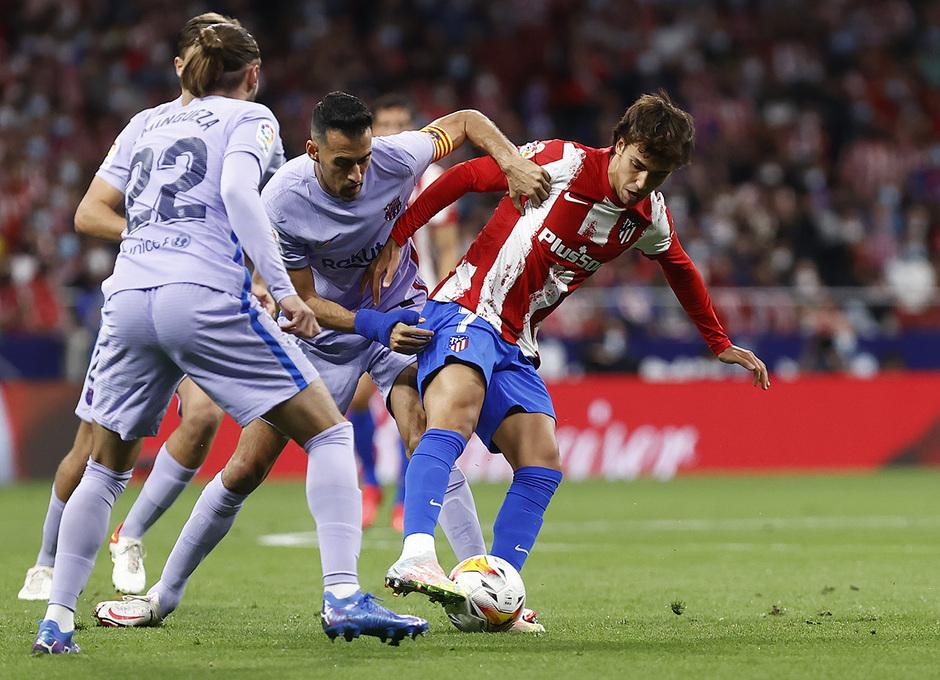 Temporada 2021/22 | Atlético de Madrid - FC Barcelona | Joao Félix