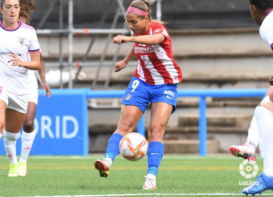 Temporada 21-22   Madrid CFF - Atlético de Madrid Femenino   Deyna