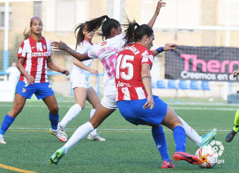 Temporada 21-22   Madrid CFF - Atlético de Madrid Femenino   Meseguer
