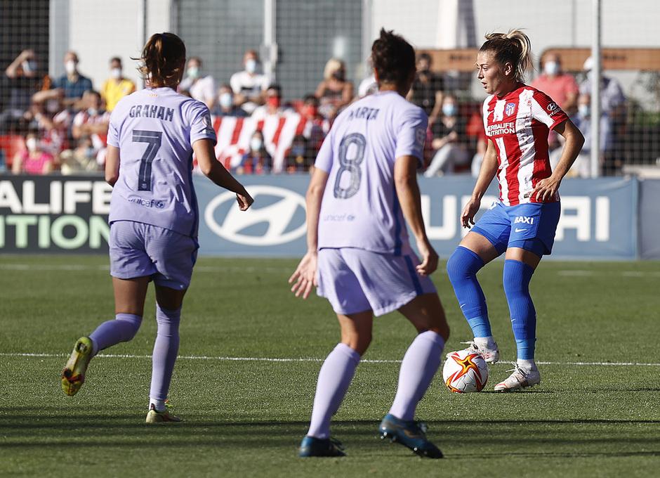 Temporada 21-22 | Atleti Femenino-Barcelona | Menayo