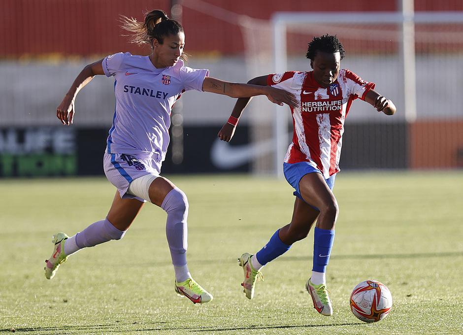Temporada 21-22 | Atleti Femenino-Barcelona | Kgatlana