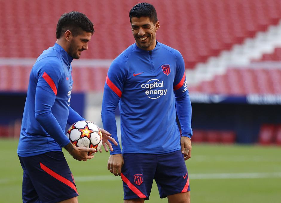 Temporada 2021/22 | Entrenamiento 16/10/21 | De Paul y Suárez