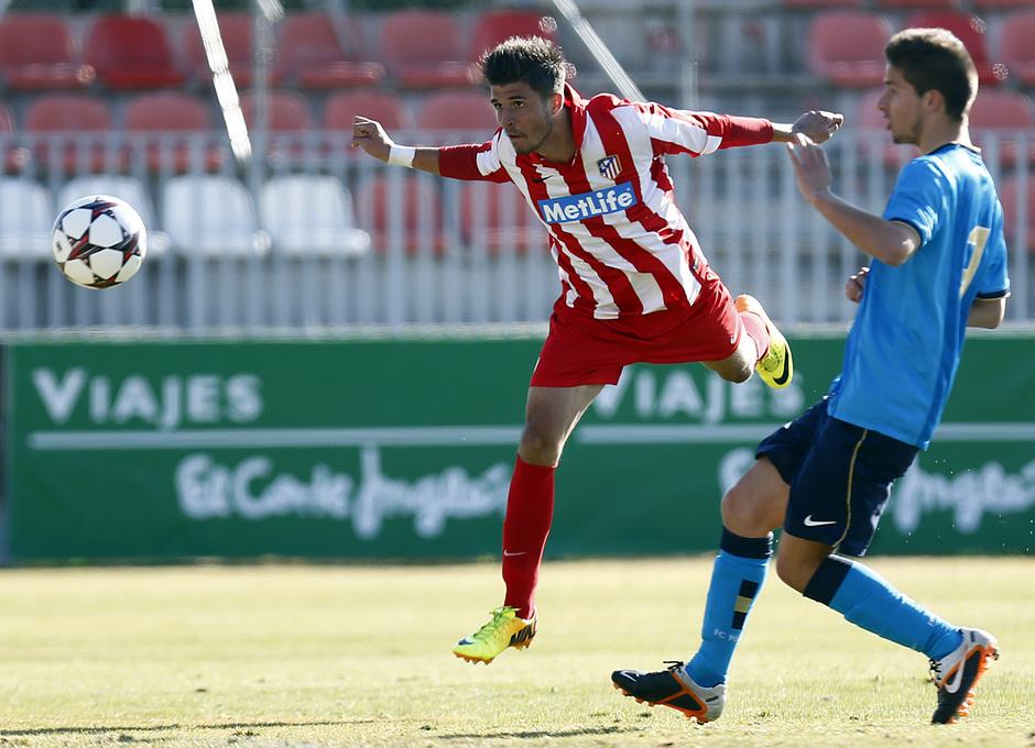 temporada 13/14. Partido Youth League. Atlético-Oporto