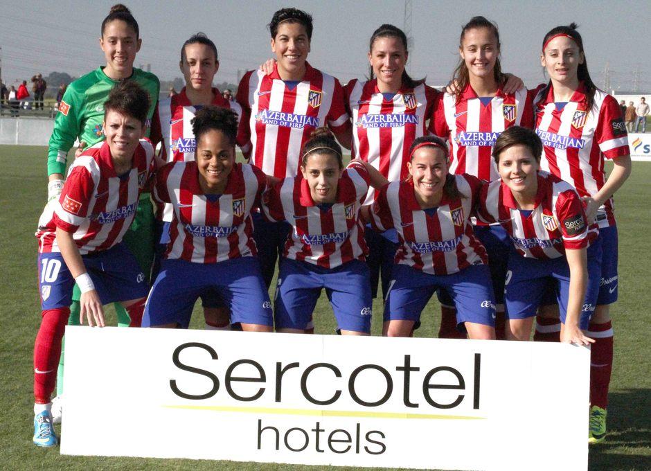 Temporada 2013-2014. Atlético de Madrid Féminas-Sevilla F.C.