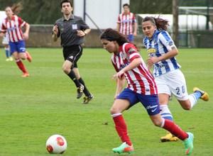 Temporada 2013-2014. Ana Borges durante el partido ante la Real Sociedad