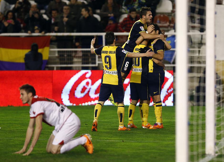 Temporada 13/14. Liga BBVA. Rayo - Atlético de Madrid.
