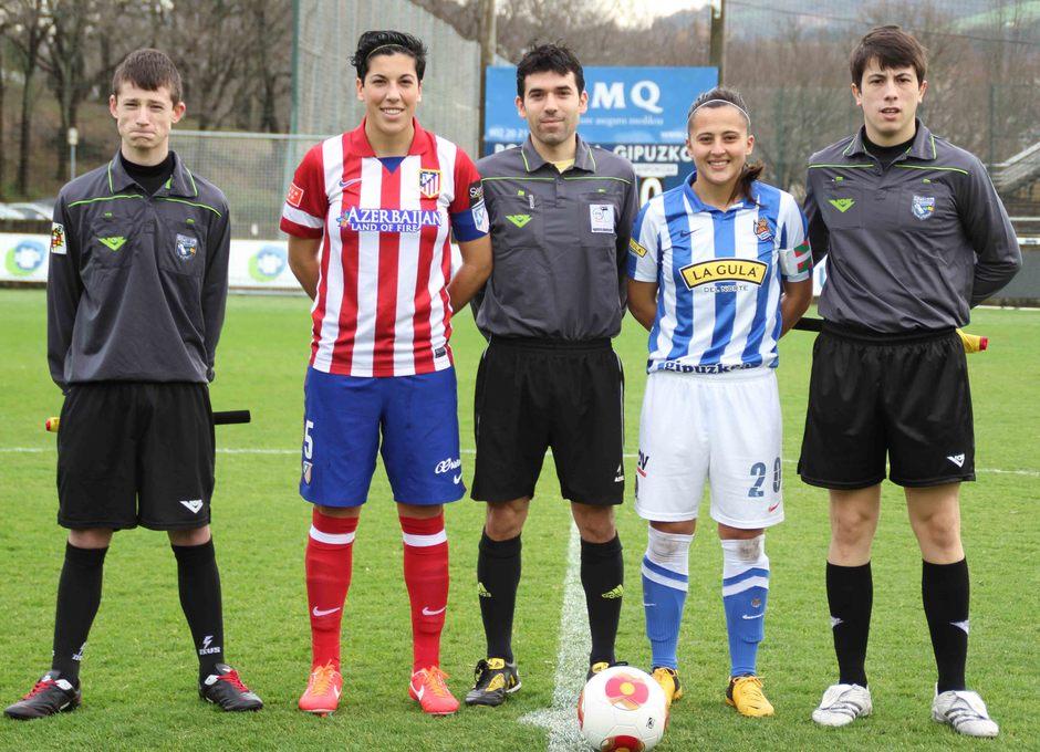 Temporada 2013-2014. Las capitanas del Atleti y la Real Sociedad