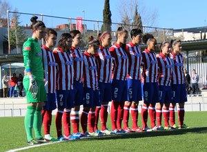 Temporada 2013-2014. Minuto de silencio Atlético de Madrid Féminas-Granada