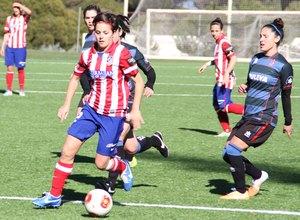 Temporada 2013-2014. Claudia Zornoza durante el partido ante el Granada
