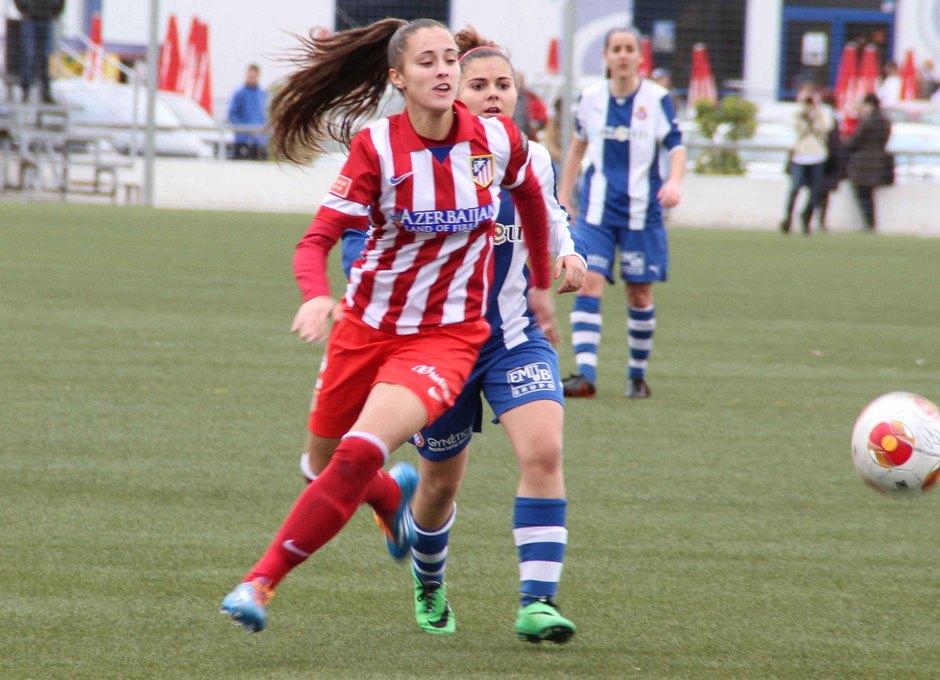 Temporada 2013-2014. Espanyol-Atlético de Madrid Féminas