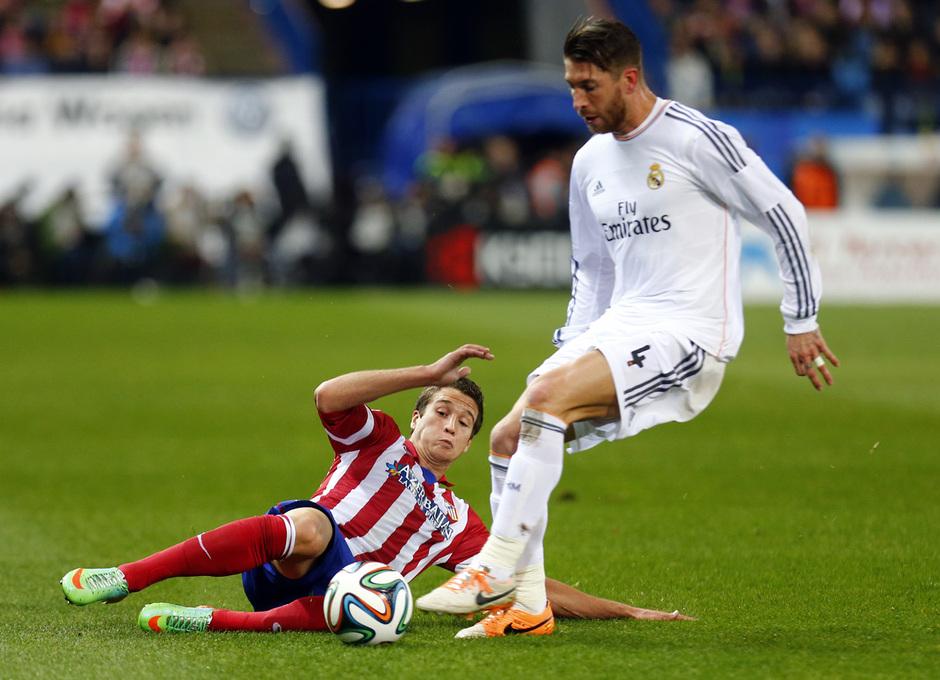 Copa del Rey. Atlético de Madrid - Real Madrid. Vuelta Semifinales