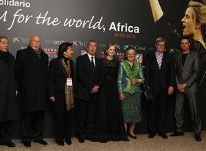 El Auditorio Nacional acogió la solidaridad del concierto 'A Team for the World, África' fruto de la colaboración entre la Fundación y la ONG Harambee