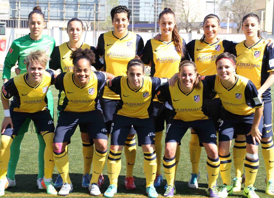 Temporada 2013-2014. Once del Atlético de Madrid ante Levante Las Planas