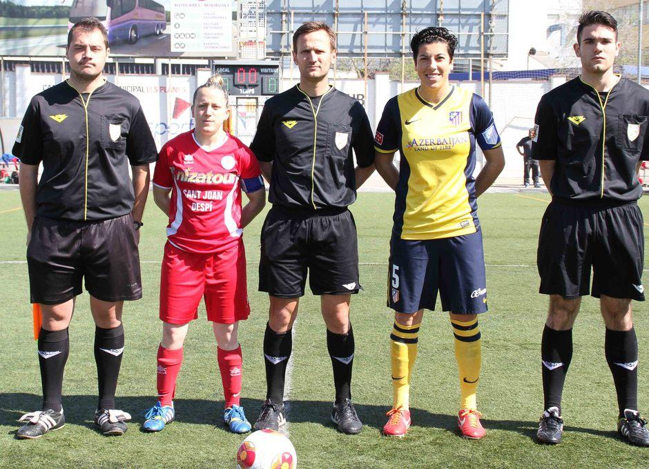 Temporada 2013-2014. Capitanas del Atlético de Madrid y Levante Las Planas
